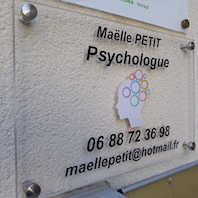 Plaque Maelle Petit Psychologue