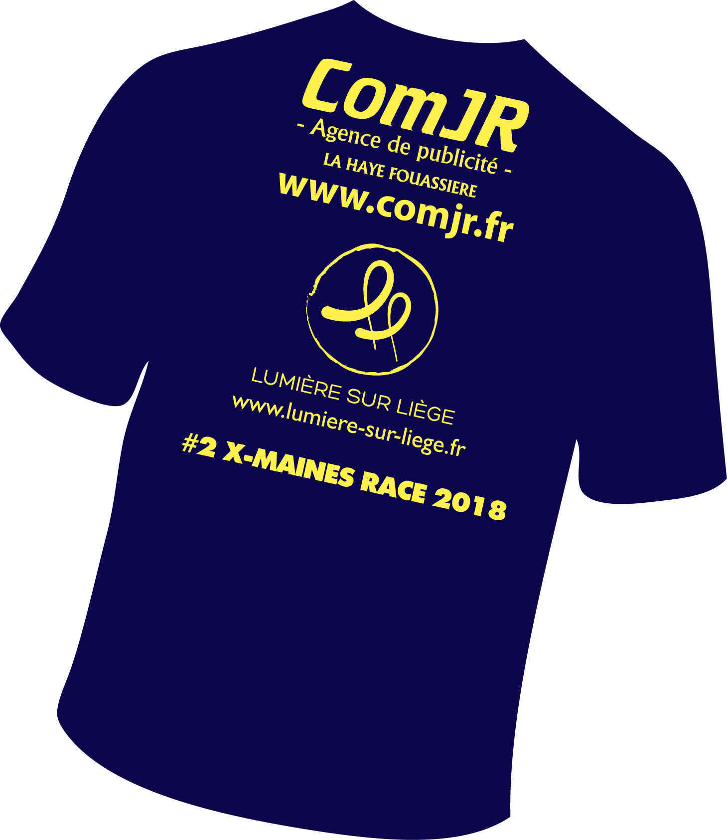 Tee-shirt ComJR aux X-Maines Race